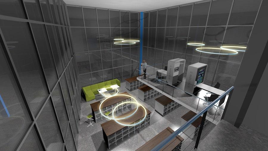 Visualisierung Virtual Reality Rendering 3D