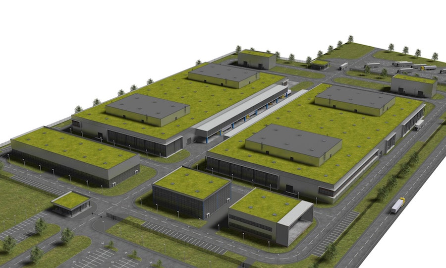 Visualisierung VR Fabrik